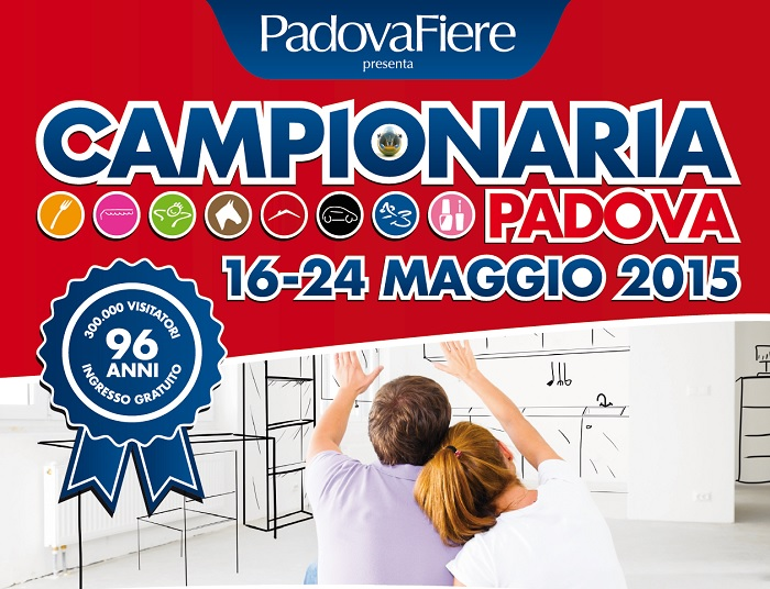 "Marangoni Stairs at ""CAMPIONARIA TRADE SHOW 2015"""